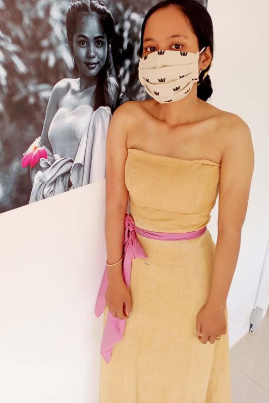 Haute couture dress by Samatoa